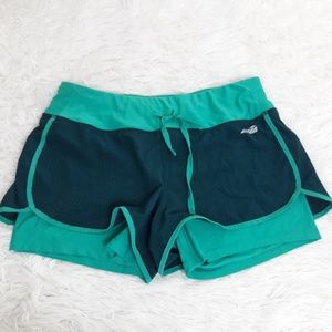 Avia Blue Running Shorts Womans Small S Active